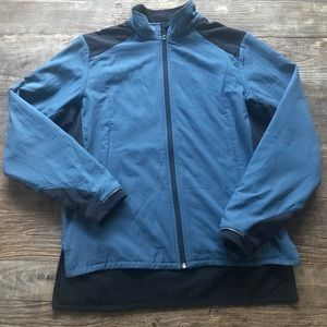 REI lightweight fleece lined jacket size Medium